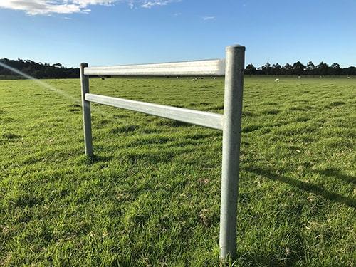 Steel Galvanised Oval Rail