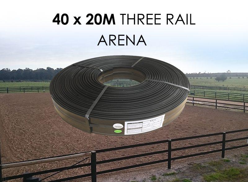 three rail Horserail Arena.